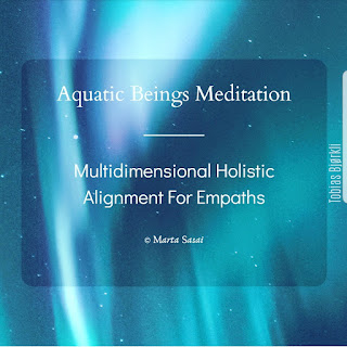 Aquatic Beings Meditation ~ Multidimensional Holistic Alignment For Empaths - Lightworkers, Starseeds and Ascension to 5D