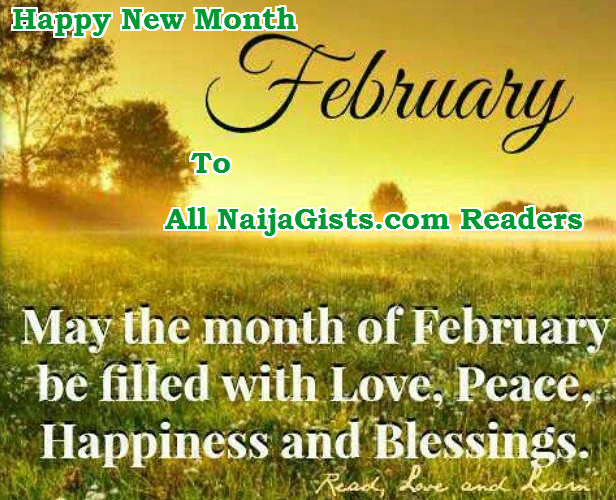 happy new month february 2016