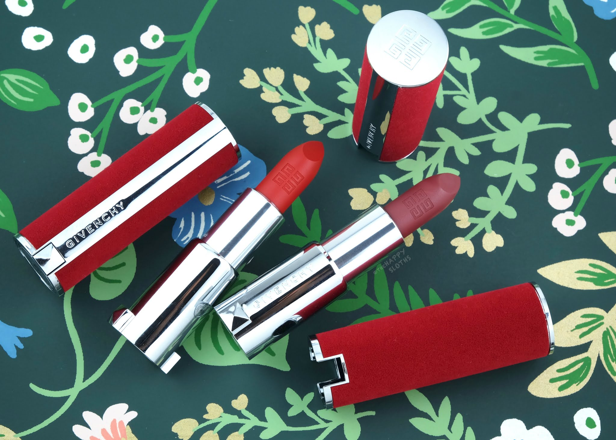 Givenchy | Le Rouge Deep Velvet Matte Lipstick: Review and Swatches
