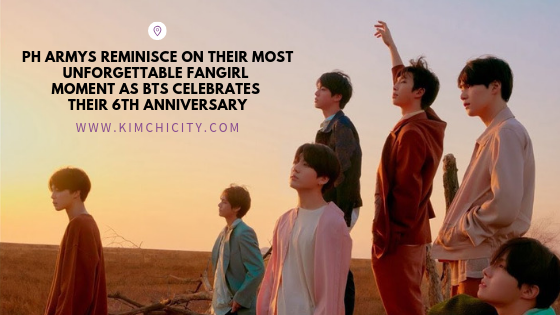 PH ARMYs reminisce on their most unforgettable fangirl moment as BTS celebrates their 6th anniversary