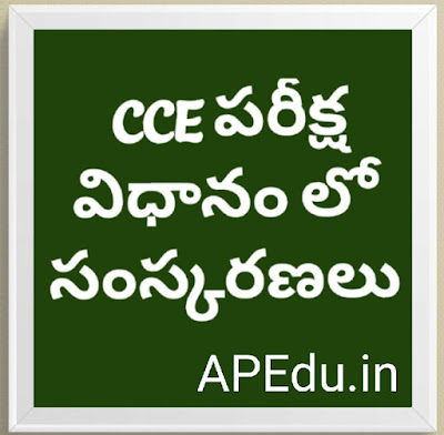 Reforms in the CCE Examination Policy