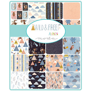 Moda Wild & Free Fabric by Abi Hall for Moda Fabrics