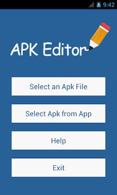 تطبيق التعديل على برامج الأندرويد APK Editor Pro المدفوع مجانا للاندرويد
