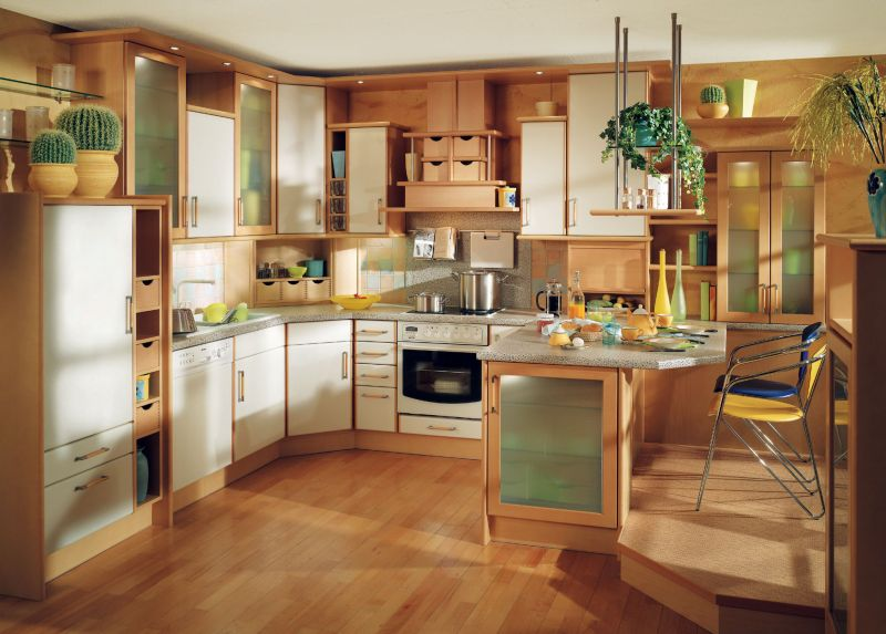 kitchen designs blend traditional and modern