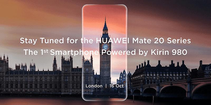 Mate 20 London launch!