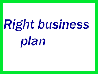 right business plan