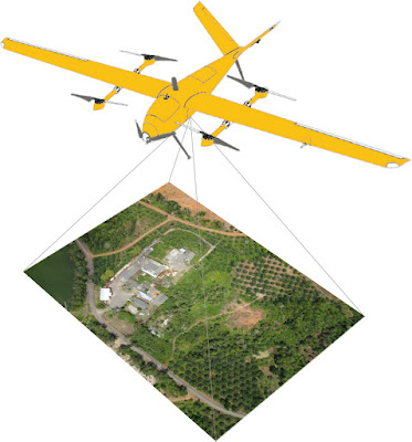 foto udara drone uav PTAI