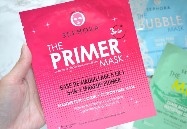 Closeup of sephora collection primer mask
