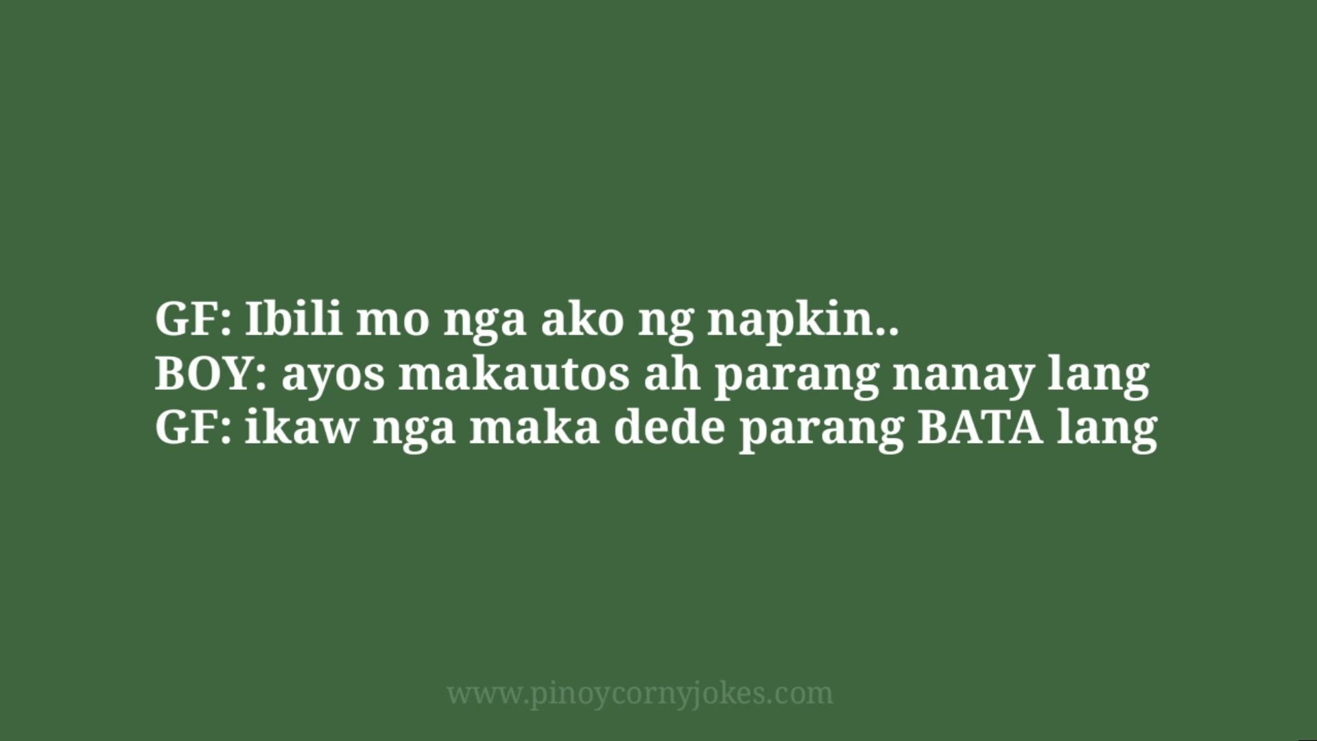 napkin joke pinoy magsyota