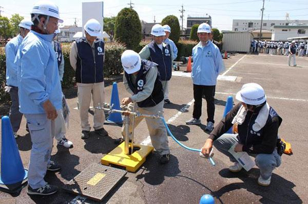 Tuyển 6 nam làm công việc lắp đặt đường ống tại Okayama tháng 6 năm 2019