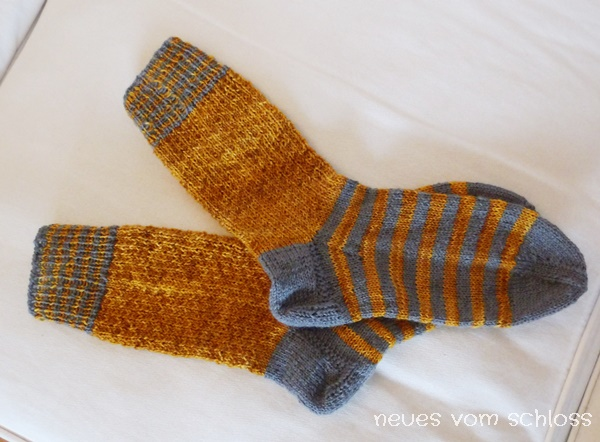 Hermiones everyday socks, Creadienstag- neuesvomschloss.blogspot.de