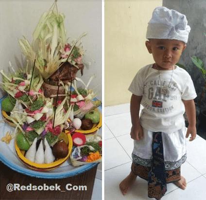 Banten Otonan Hindu Bali