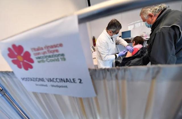 Italia ampliará el tiempo para la segunda dosis de Pfizer y Moderna a 42 días