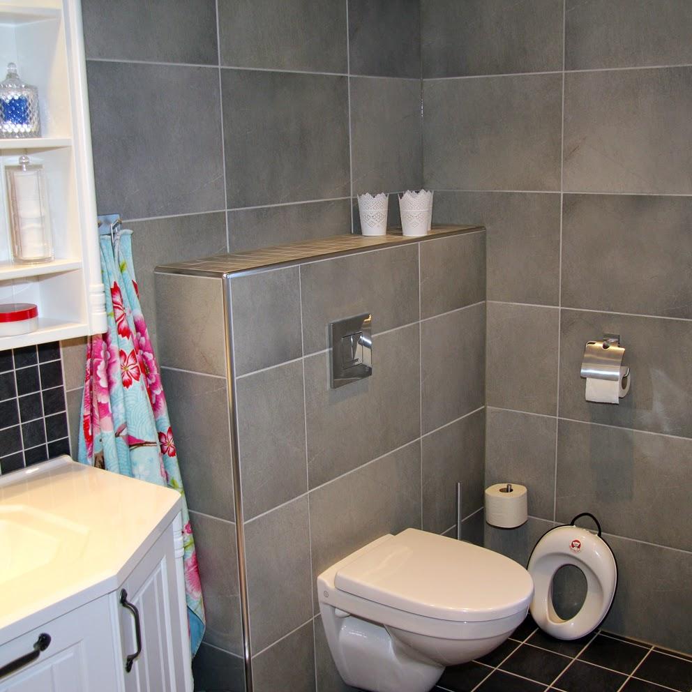 Livet på landet: vårt nya badrum