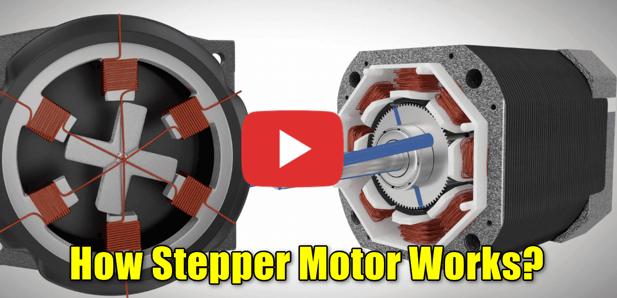 Video how stepper motor works studyelectrical online for Dc stepper motor working