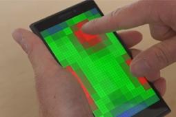 Microsoft testa tecnologia que prevê comando do usuário antes de tocar tela
