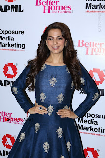 Bollywood Actress Juhi Chawla Launchs Better Homes 10th Anniversary Celetion Cover  0003.JPG