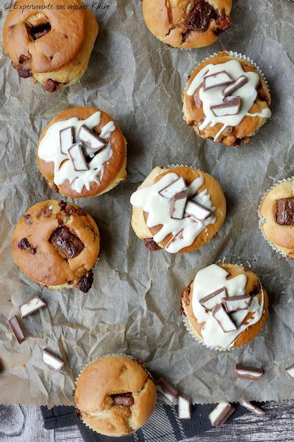 Kinderschokoladen-Muffins | Backen | Kuchen | Muffins | Rezept