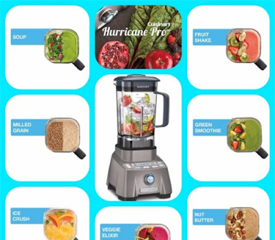 Cuisinart Hurricane Pro Blender Contest