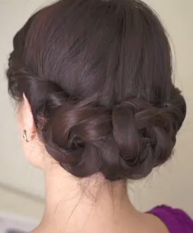 haircut and style braided updo hairstyle for hair the braided 2332