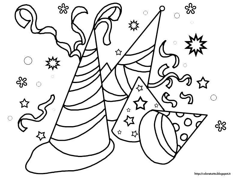 Carnevale disegno da colorare n 8 for Immagini maschere carnevale da colorare