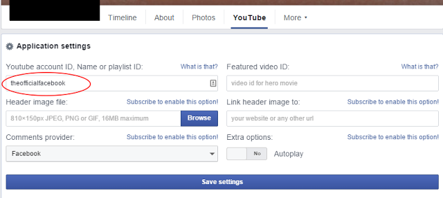 Install YouTube on Facebook Page - Dots Created