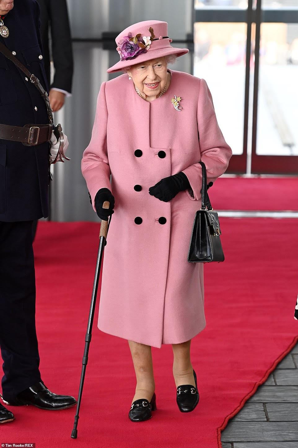 Queen Visits Cardiff