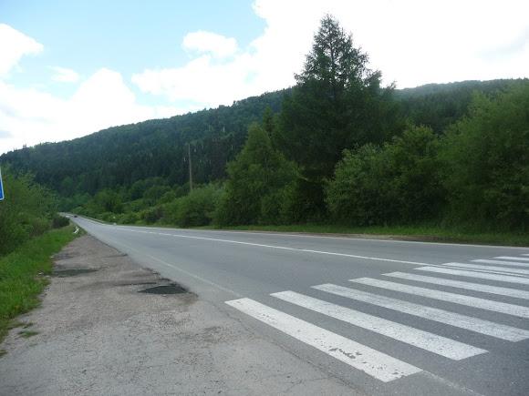 Сколе Львовская область. Автодорога Киев-Чоп