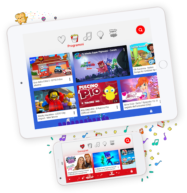 YouTube Kids finalmente anche in Italia