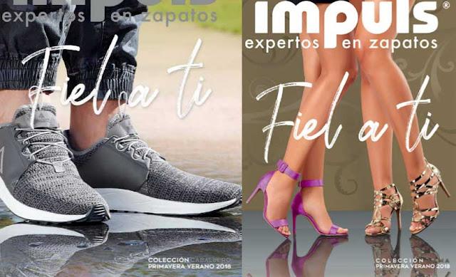 Catalogos impuls 2018 | experto en zapatos
