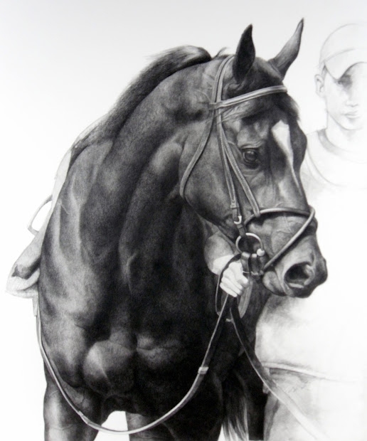 Karmel Timmons Horse Drawings