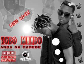 Pcliss feat. 2 Jay - Todo Mundo Andar Na Parede