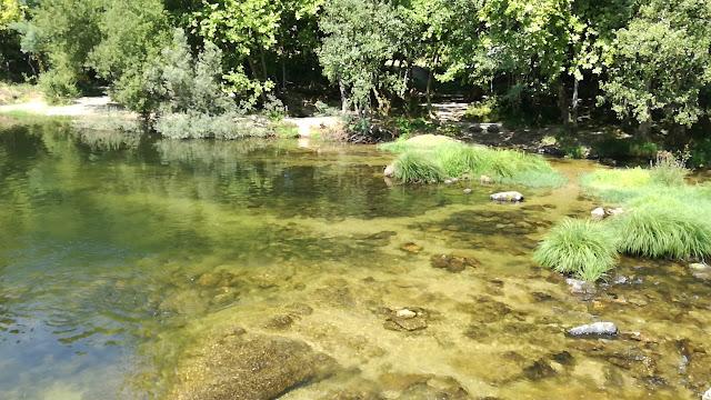 água limpa do Rio Cávado
