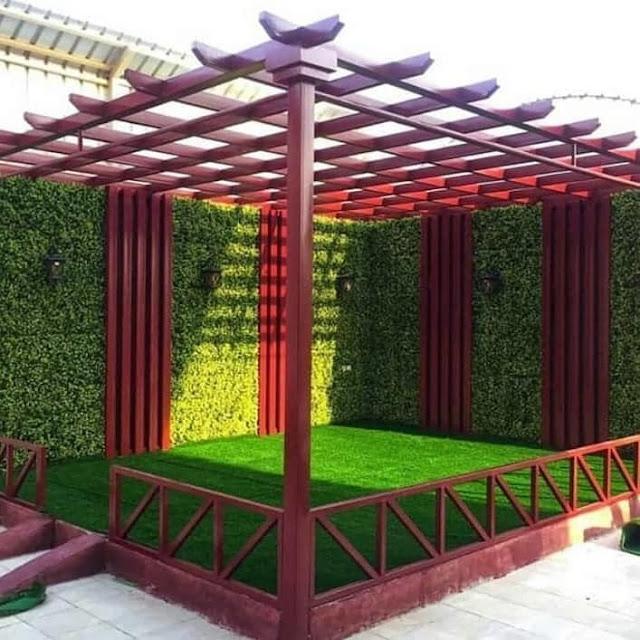 جلسات حدائق خارجية في جدة