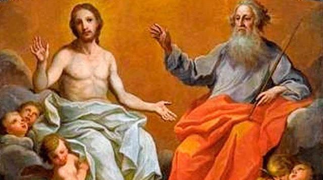 Que significa estar sentado a la derecha de Dios