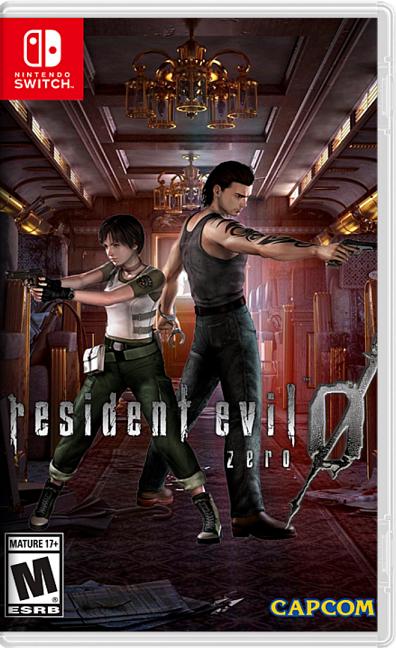 Resident Evil Zero HD XCI/NSP Switch