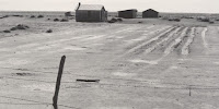 Abandoned Texas Dustbowl farm, 1938: The poor will make the rich richer. (Image Credit: Dorothea Lange, via Wikimedia Commons) Click to Enlarge.