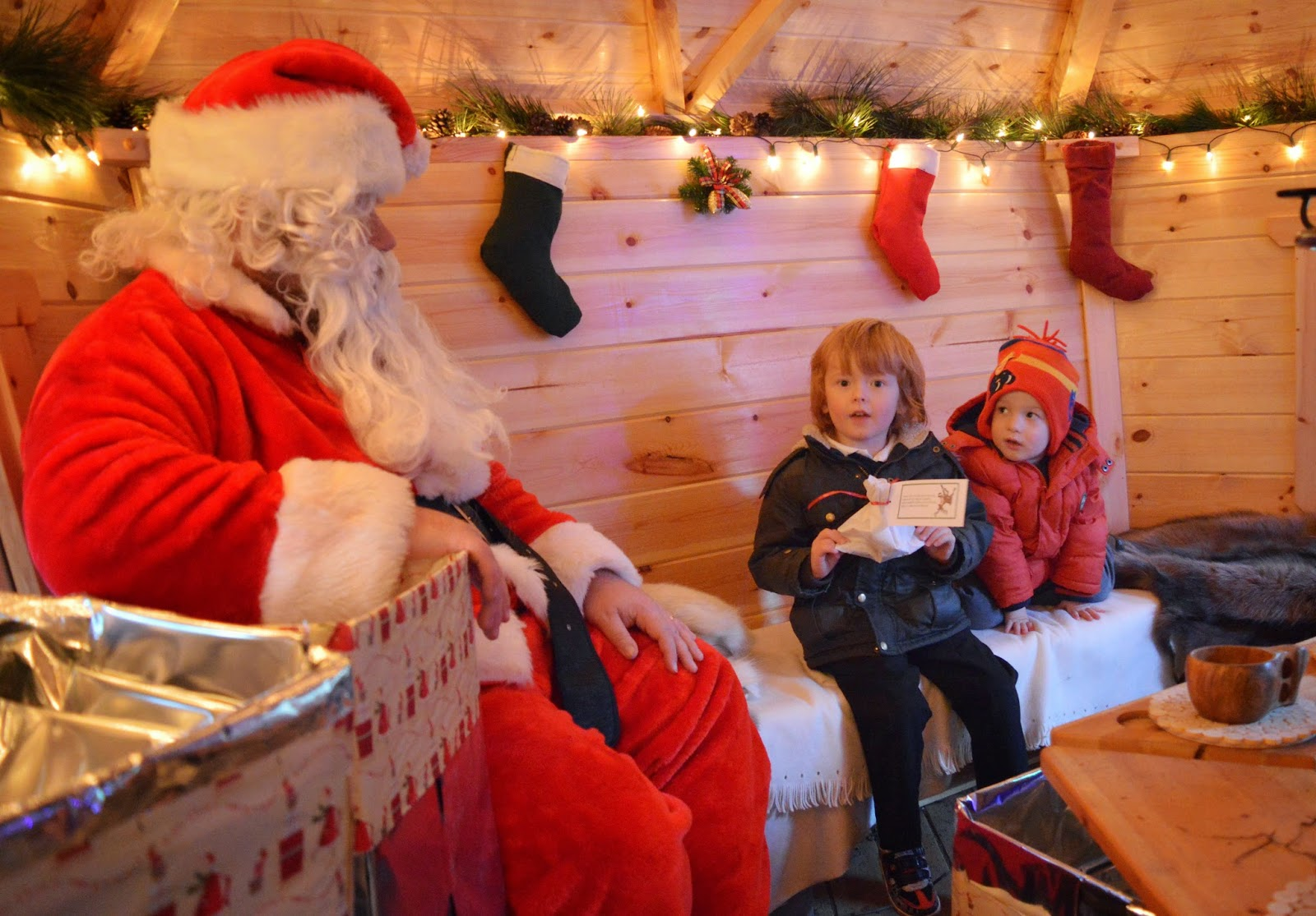 The Best Santa Experiences in North East England - Rising Sun Country Park