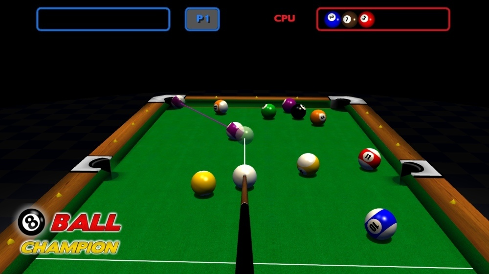 Play an 8 Ball Pool Game with 2 Challenging Game Modes