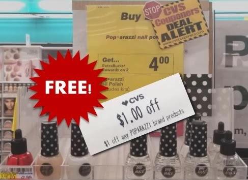 FREE Poparazzi Nail Polish CVS Deal 2/21-2/27