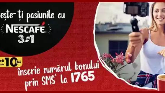Câștigători concurs NESCAFE 3în1 2020 10.000 de Euro. Trimite SMS la 1765 și câștigă cu Nescafe 3in1