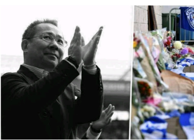 Leicester City owner confirmed among dead in tragic helicopter crash