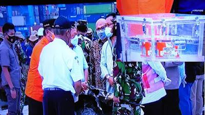 Flight Data Recorder Pesawat Sriwijaya Air SJ 182 di Serahkan Kepada KNKT