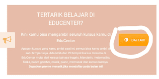 Pendaftaran EduCenter