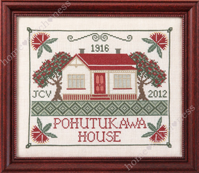Pohutukawa House by homestitchness