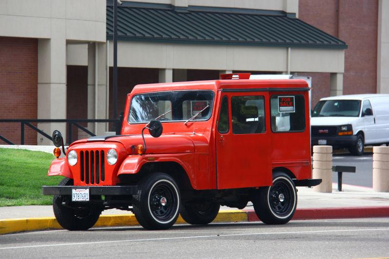 California Streets Danville Street Sighting 1975 Jeep Dj 5d