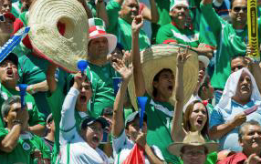 Mexican Soccer Fans Anticipate Sunday's Match Against U.S.: 'We Win! In Your Face, Trump!'