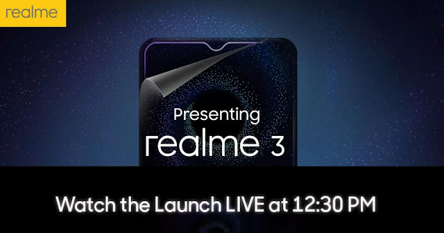 Realme 3 with MediaTek P70 chipset launch today: Details