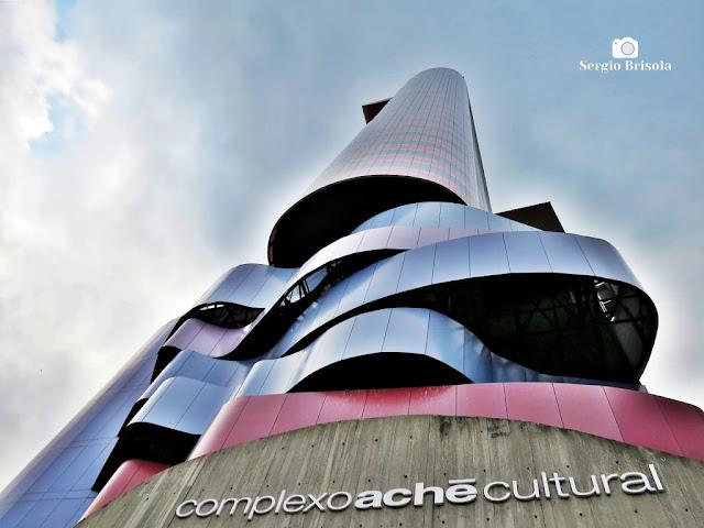 Perspectiva inferior do Complexo Aché Cultural - Instituto Tomie Ohtake - Pinheiros - São Paulo