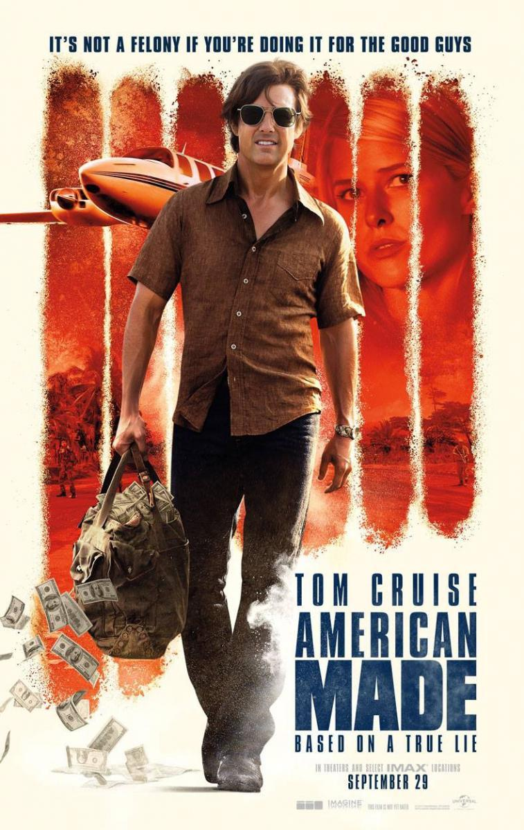 Download American Made (2017) Full Movie in Hindi Dual Audio BluRay 480p [400MB]